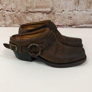 Frye Carson Mule Boots